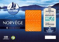 SAUMON ATL ELEVE EN NORVEGE FUME - Product - fr