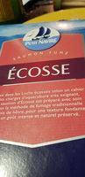 Saumon Fumė D' Ecosse - Nutrition facts - fr