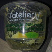 Houmous pois chiche basilic noix de cajou - Product - fr