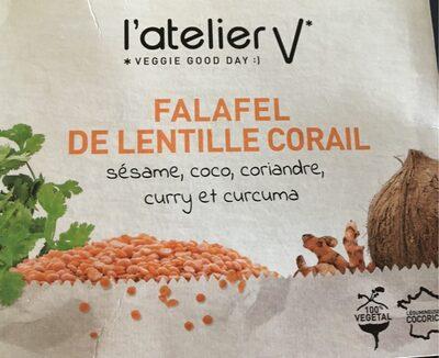 Falafel de lentille corail - Product - fr