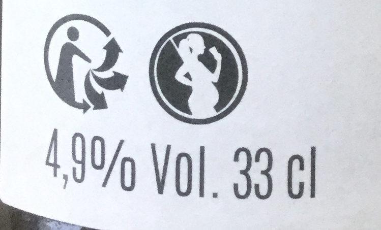 Nomad Bière blanche - Informations nutritionnelles