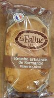 Brioche artisanale de Normandie aux pépites de chocolat - Produit - fr