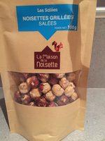 Noisettes grillees salees - Produit - fr
