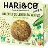 Galettes de lentilles vertes Bio - Produit