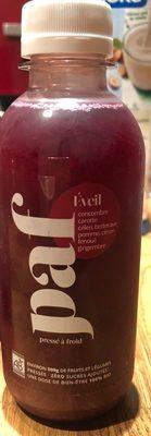 Jus Eveil - Produit