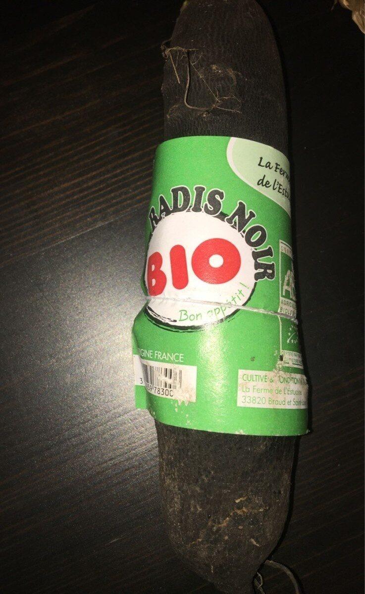 Radis noir ab - Informations nutritionnelles - fr