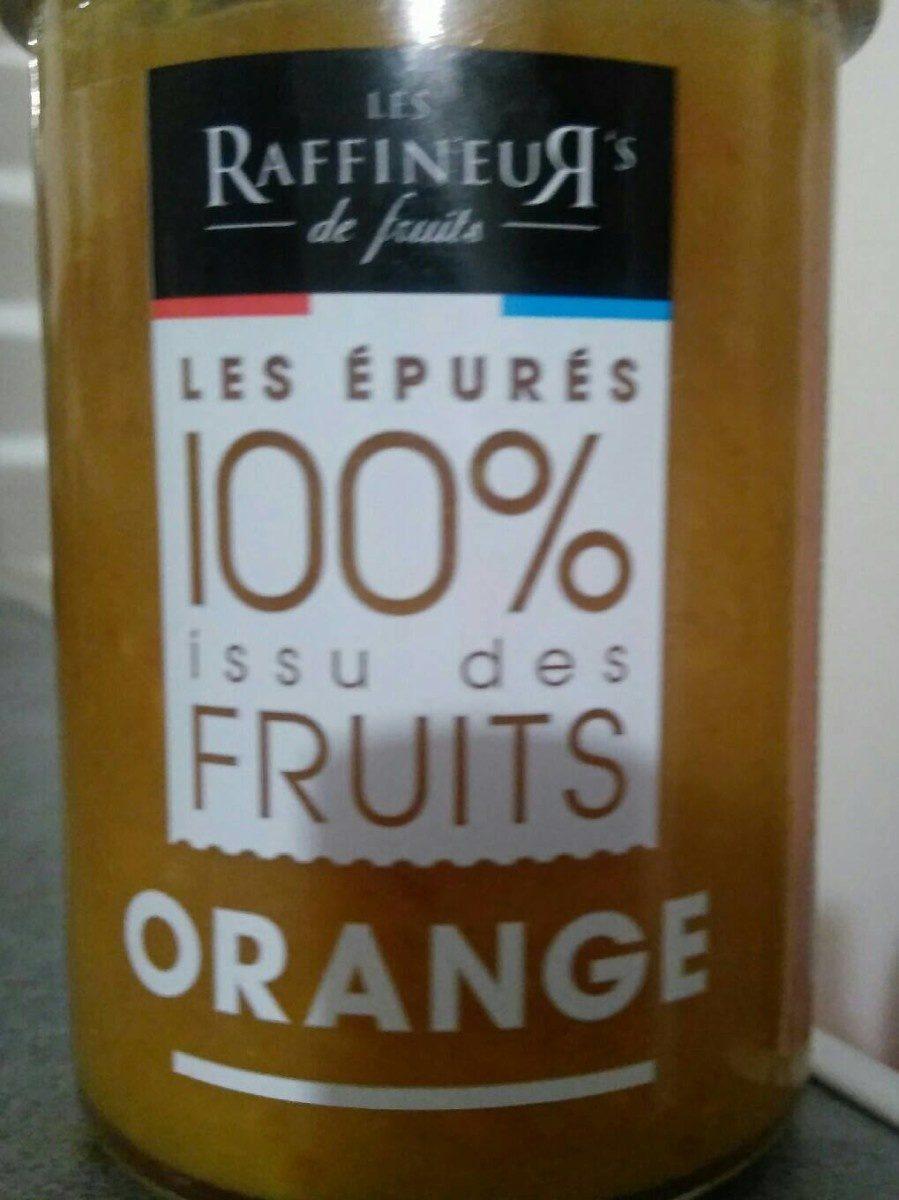 Les épurés 100% issu des fruits Orange - Product - fr