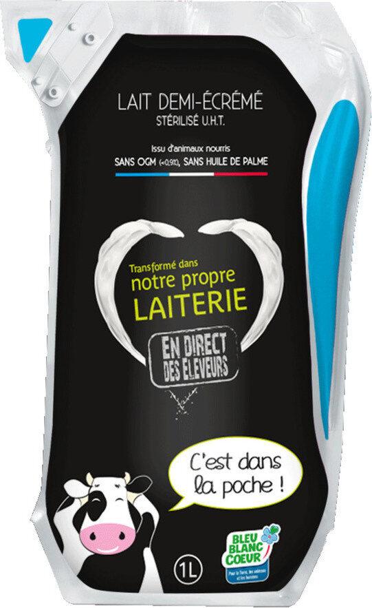 Lait Demi Ecrémé UHT - Product - fr