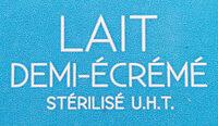 Lait demi-écrémé En Direct Des Éleveurs - Ingredients - fr