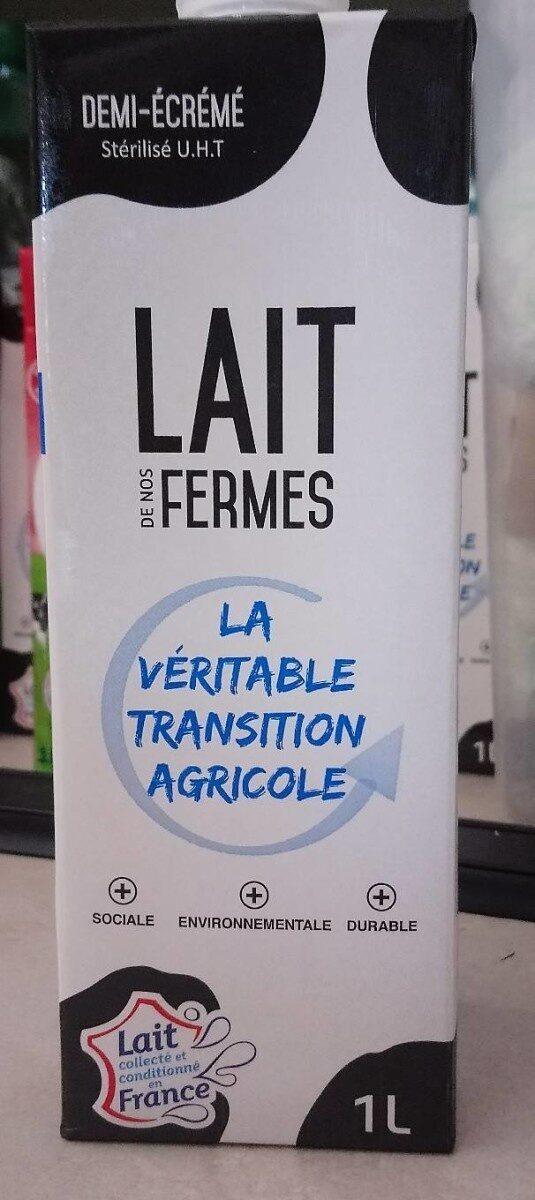 LAIT DE NOS FERMES - Produit - fr
