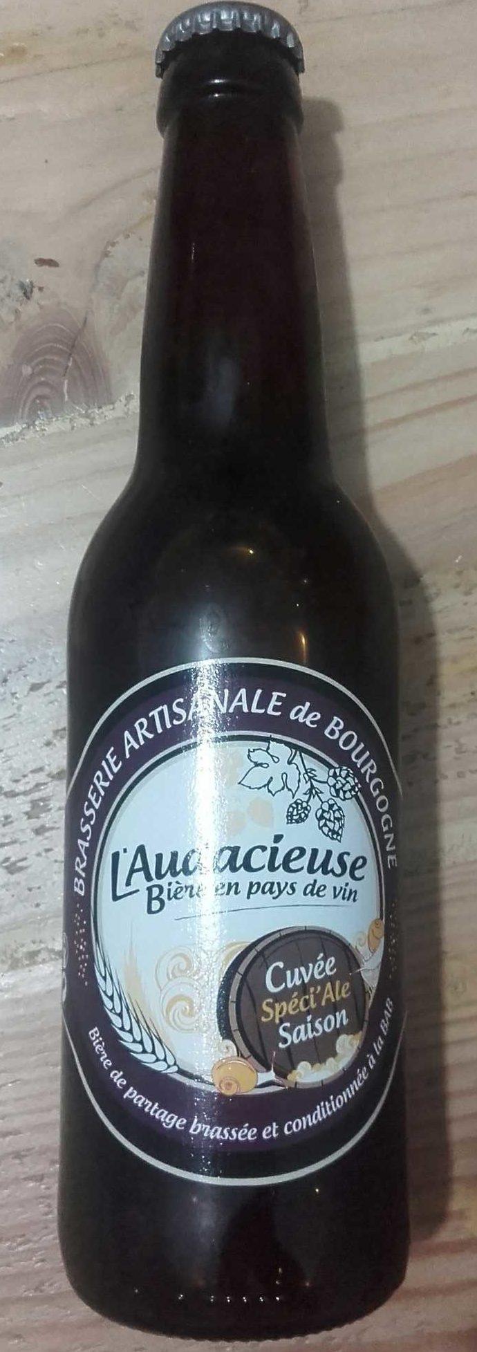 Bière cuvée Spéci'Ale Saison - Produit