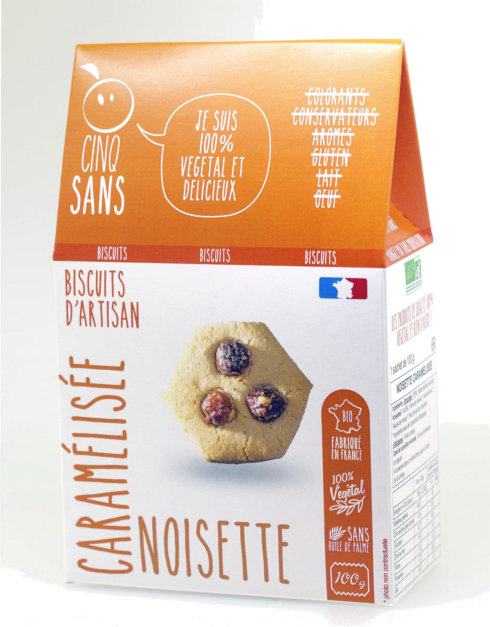 Noisette Caramelisée - Produit - fr
