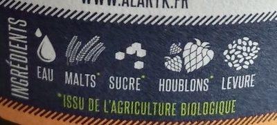 Alaryk double - Ingrediënten - fr