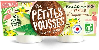 Les petites pousses au lait de coco - Produit - fr