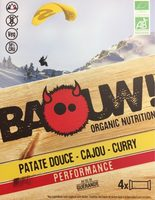 Patate douce - Cajou - Curry - Product - fr