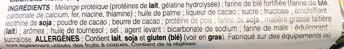 Gaufre Arôme Chocolat - Ingrediënten