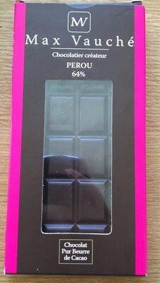 Tablette de chocolat 64% Pérou - Produit