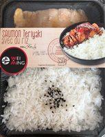 Saumon Teriyaki avec du riz - Product - fr