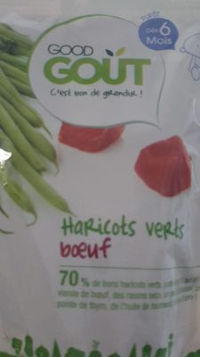 Haricot vert boeuf-Good Gout-190g - Product
