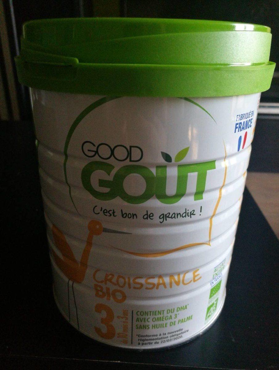Laits de croissance 3 bio-Good Gout-800g - Product