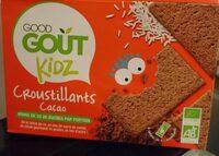 Croustillants cacao-Good Gout Kidz-110g - Produit - fr