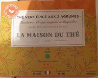 Thé vert épicé aux 2 agrumes - Product - fr