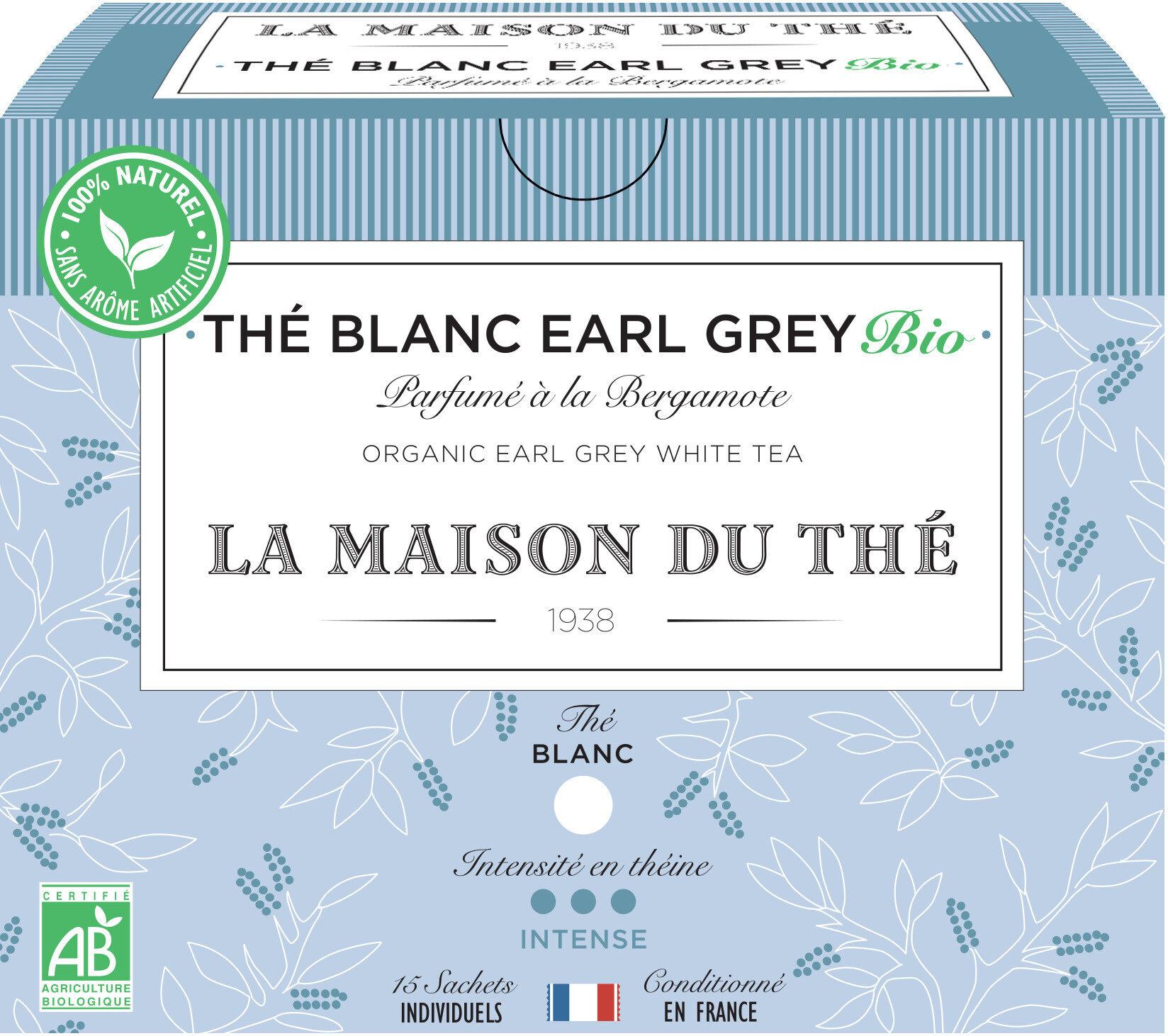 Thé blanc earl grey bio - Product - fr