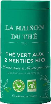 Thé vert aux 2 menthes bio - Product - fr