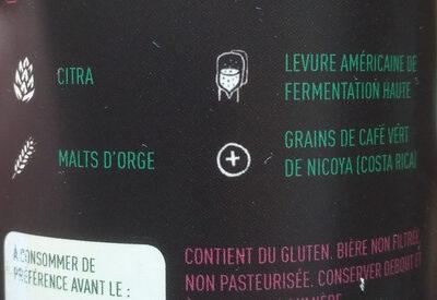 Green Go - Ingredients - fr