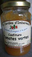 Confiture tomates vertes - Product