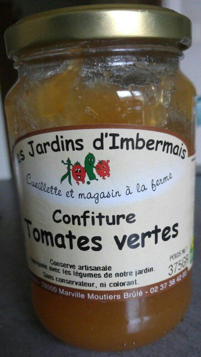 Confiture tomates vertes - Product - fr
