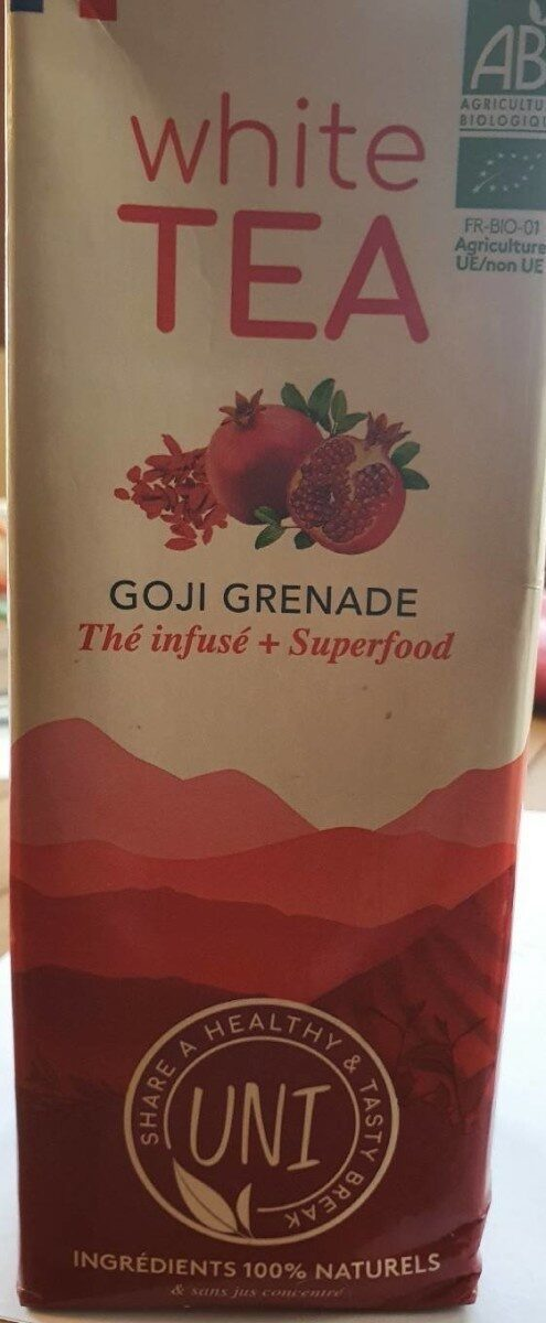 White Tea goji grenade - Product - fr