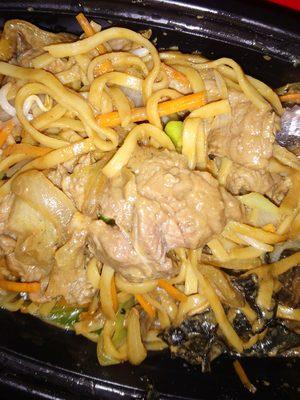 Crevette sauce aigre-douce et riz cantonnais - Product