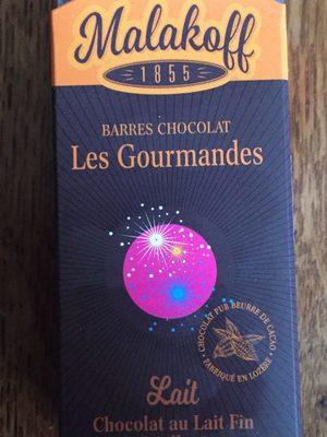 Barres chocolat au lait - Produit - fr
