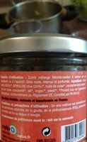 tartinad olive - Ingredients - fr