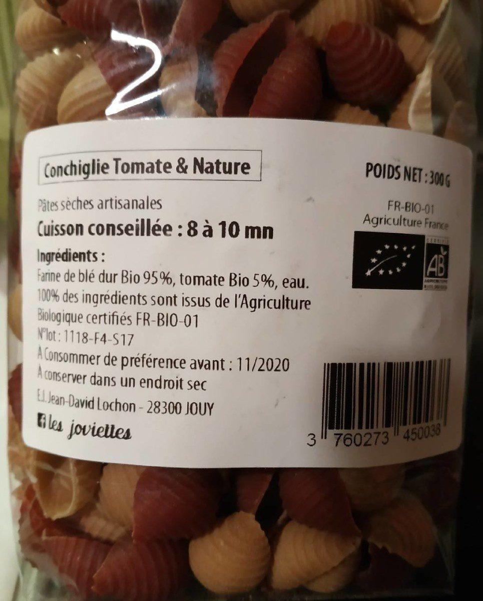 Pates au blé dur - Ingrédients - fr