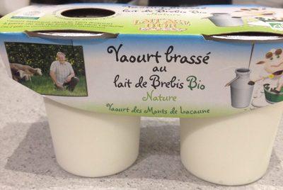 Yaourt brassé au lait de brebis nature - Product