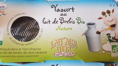 Yaourt au lait de brebis bio nature - Produit - fr