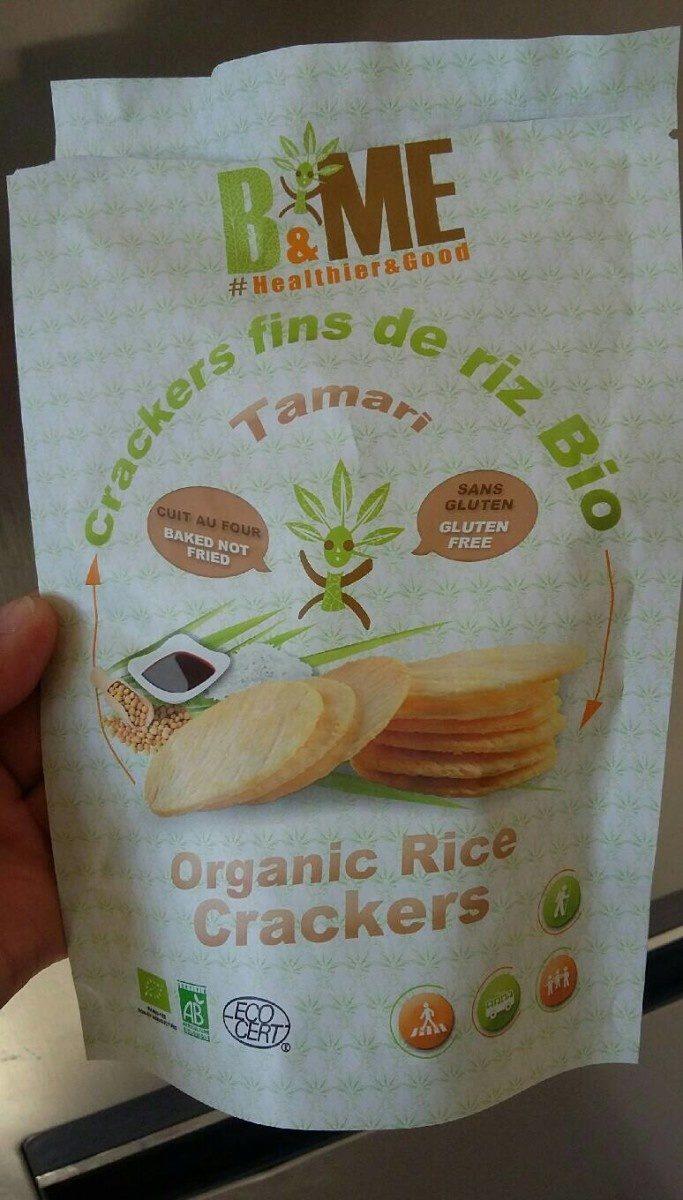 Crackers fins de riz Bio - Tamari - Producto - fr
