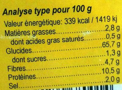 6 Céréales & 4 Graines - Nutrition facts