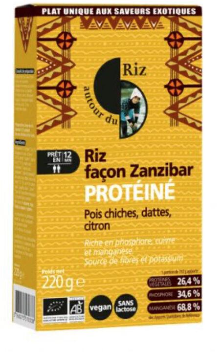 Riz facon zanzibar protéiné - Produit - fr