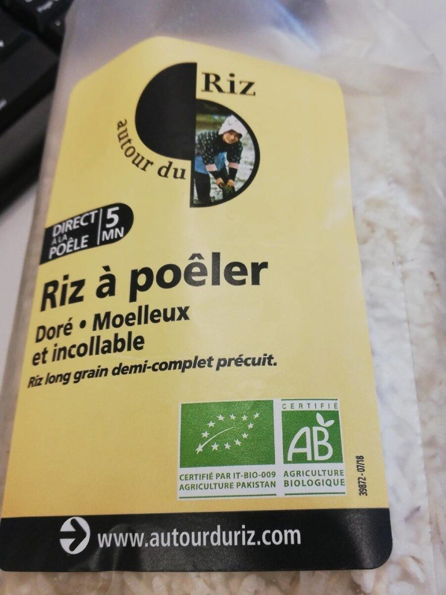 Riz à poêler - Product - fr