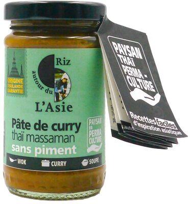 Pâte de curry thaï massaman - Product - fr