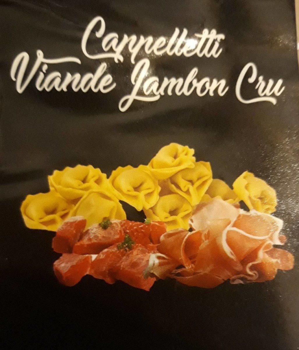 Cappelletti viande jambon cru - Product