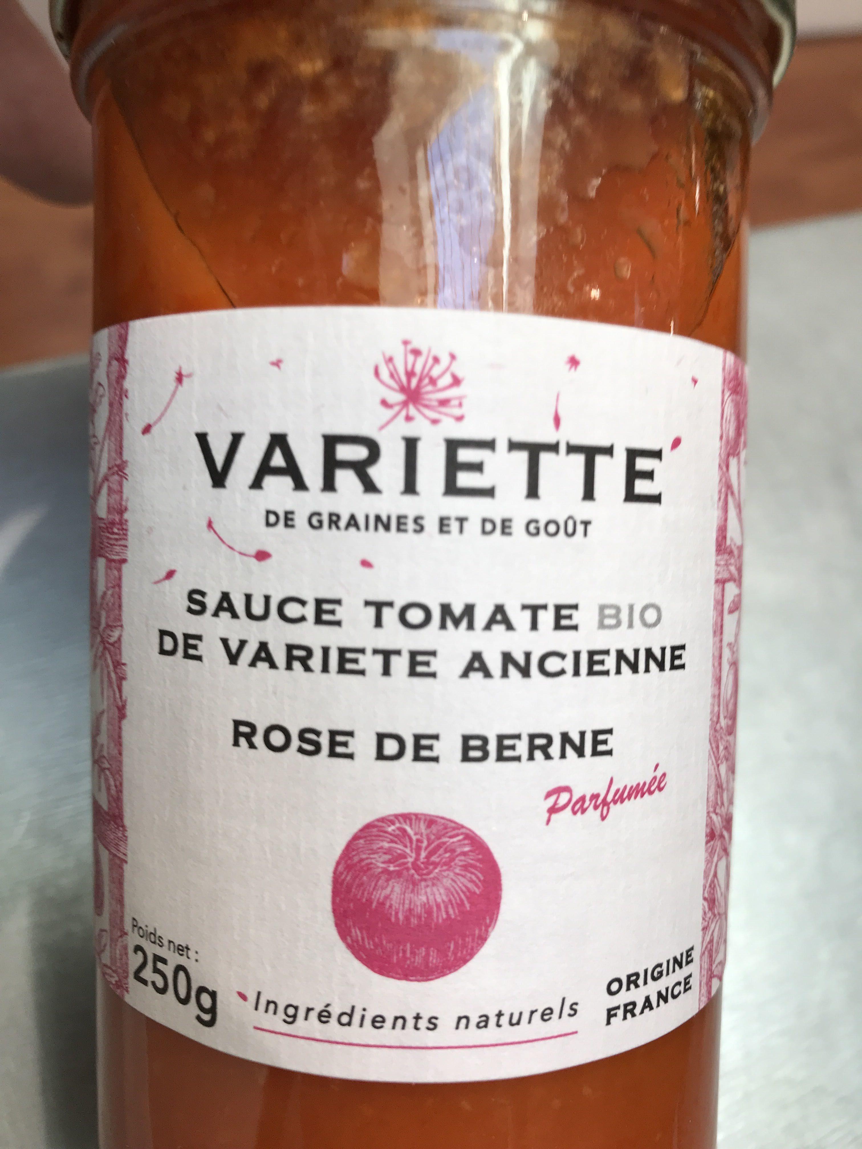 Sauce tomate bio de variété ancienne - Produit - fr