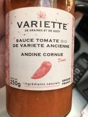 Sauce Tomate Bio De Variete Ancienne Andine Cornue - Product - fr