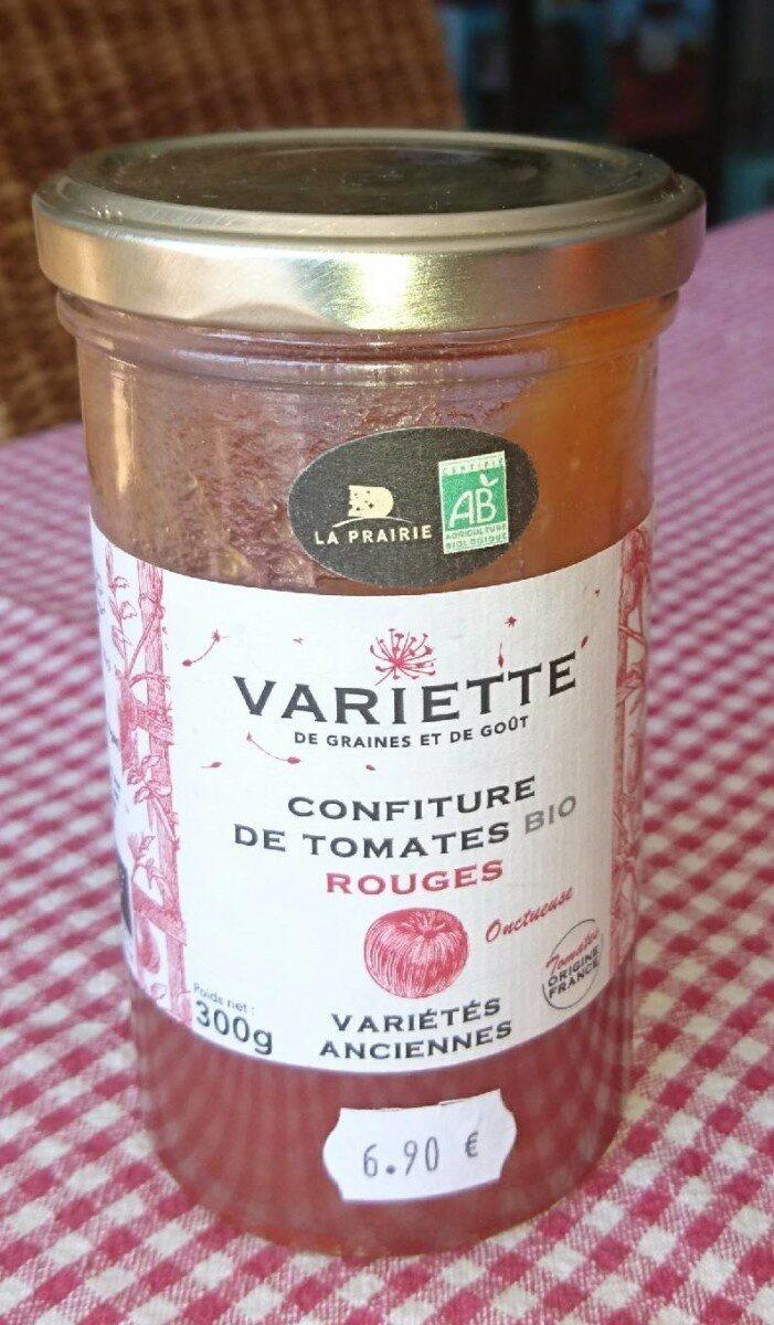 Confiture de tomates bio rouge - Produit - fr