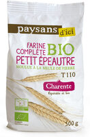 Farine complete Petit Epeautre - Product - fr