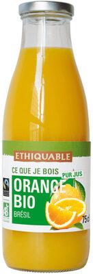 ORANGE BIO pur jus - Product - fr