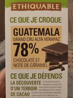 Guatemala chocolat - Product